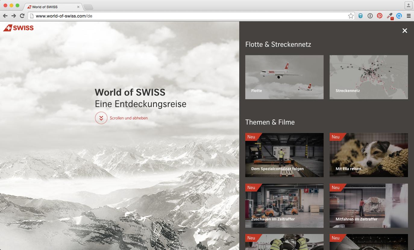 Screenshot: world-of-swiss.com/de
