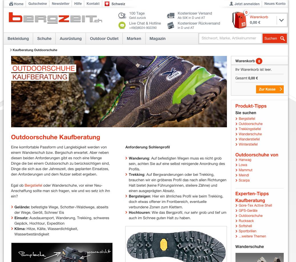 tinkla-Content-Marketing-Bergzeit