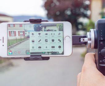 Smartphone Videoproduktion mit Stabilisierung