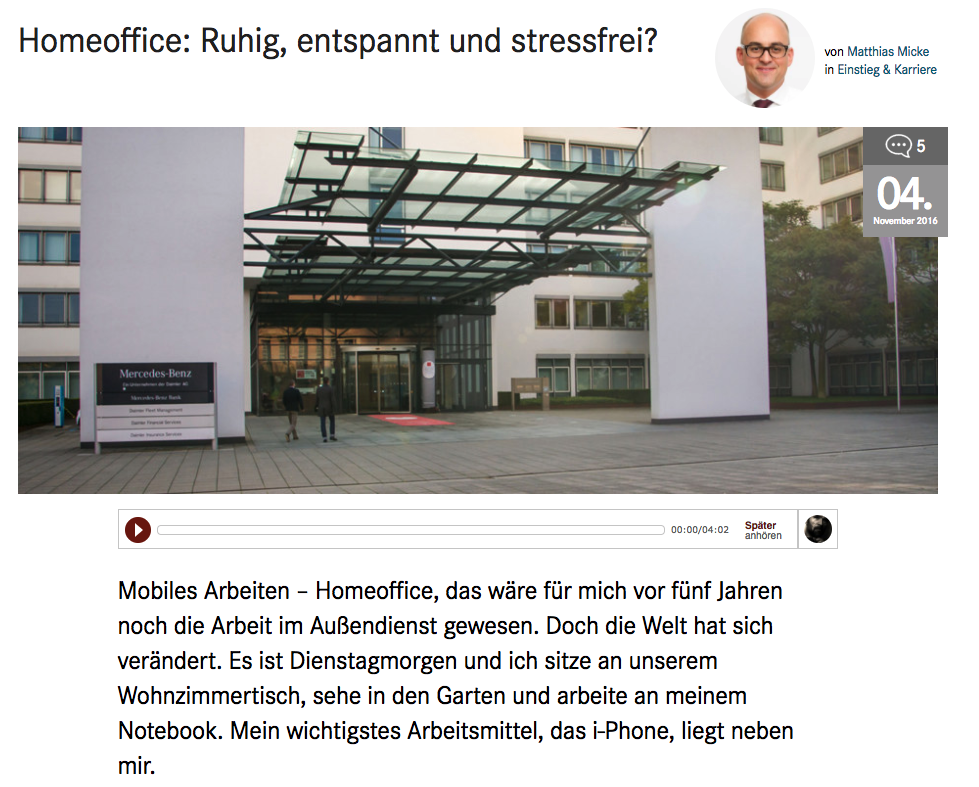 Screenshot blog.daimler.de